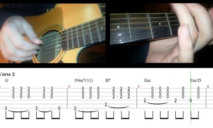 The Beatles Yesterday Guitar Lesson with Tab/Chords.