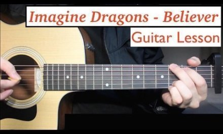 Imagine Dragons – Believer | Guitar Lesson (Tutorial) How to play Chords