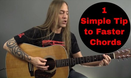 1 Simple Tip to Change Your Guitar Chords FASTER | Beginner Guitar | Steve Stine Guitar Lessons