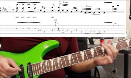 How to play 'Jump' by Van Halen Guitar Solo Lesson w/tabs