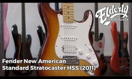 Fender New American Standard Stratocaster HSS (2011)   Elderly Instruments