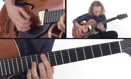 Jazz Trio Comping Guitar Lesson – No Greater Changes Performance – Mimi Fox