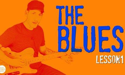 BLUES Guitar | Beginner Blues Chords (Lesson 1)