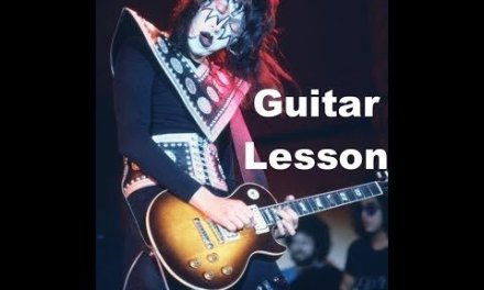 Watchin You – KISS Guitar Solo Lesson