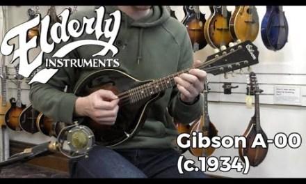 Gibson A-00 (c.1934) | Elderly Instruments