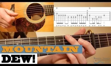 """Mountain Dew"" – Stanley Brothers – Intermediate BLUEGRASS Guitar Lesson with TAB"