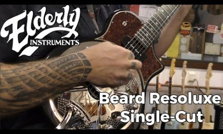Beard Resoluxe Single-Cut | Elderly Instruments