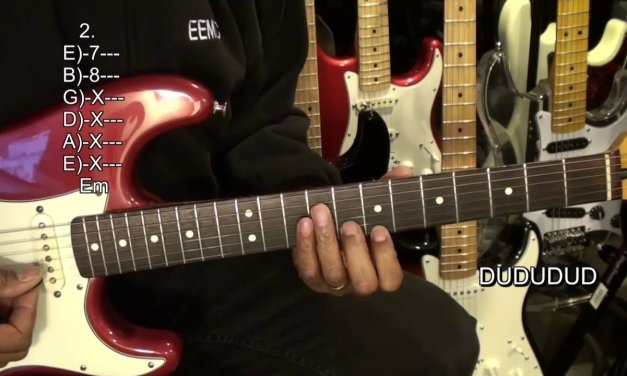 How To Play PRIDE AND JOY Stevie Ray Vaughan Electric Blues Guitar INTRO Riff Lesson