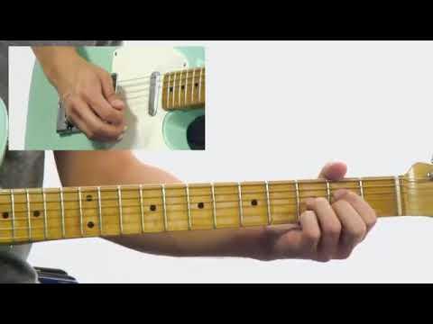Blues Rhythm Guitar Lesson Corey Congilio Slow Blues