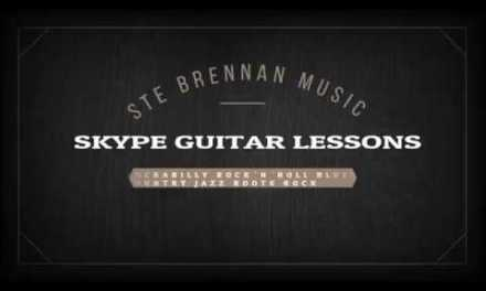 Ste Brennan Music – Skype Guitar Lessons (Rockabilly, Rock'n'Roll, Blues, Country, Jazz, Rock)