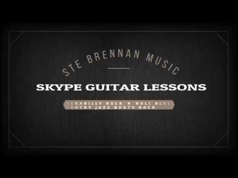 Ste Brennan Music – Skype Guitar Lessons (Rockabilly, Rock'n'Roll, Blues, Country, Jazz, Rock)