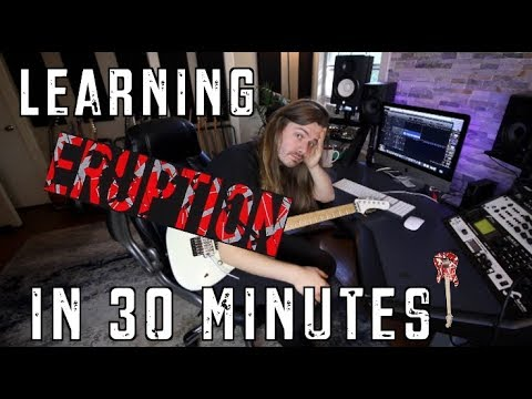 Learning Eruption In 30 Minutes!