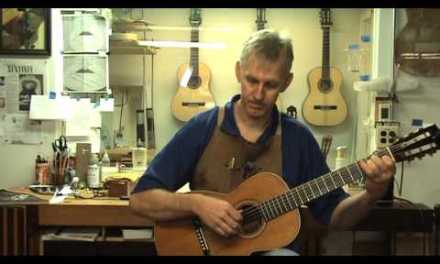 1890 Martin Guitar Repair by O'Brien Guitars