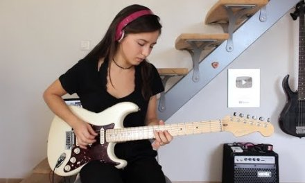 Pink Floyd – Comfortably numb last solo (Cover by Chloé)