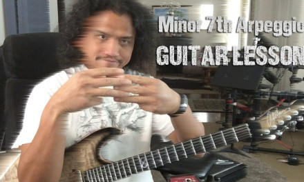 GUITAR LESSON: The Minor 7th Arpeggio