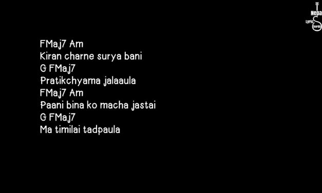 Jhari ko raat – Albatross | Nepali Lyrics And Chords | Guitar Lesson | Tutorial |