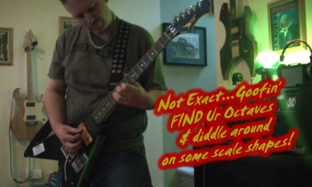 Learning my own ear splitting guitar solo THRASH written by teens 30 years ago!