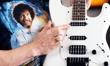 $12 Pickup Swap in the Jackson SDX! (feat. Bob Ross) – Demo / Review / Tutorial