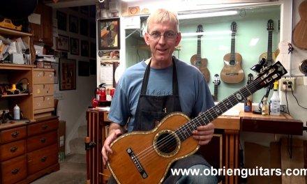 1800's German parlor guitar repair