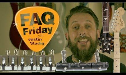 FAQ Friday Ep 23: Fender Squier Upgrade, PRS SE Guitar Upgrades!