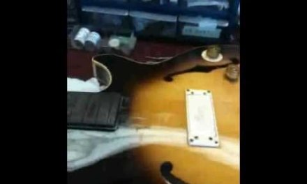 Centerline Luthiery – Neck Steamer Guitar Repair