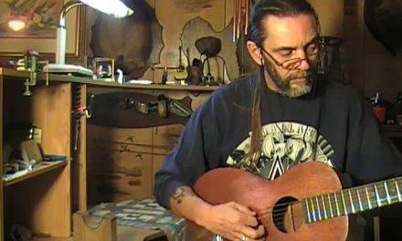 Regal Parlor Guitar repair and demo part 3 of 3