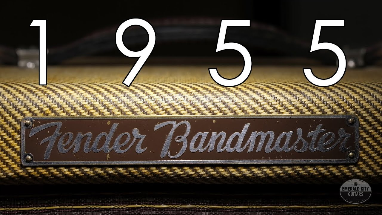 """Pick of the Day"" – 1955 Fender Bandmaster"