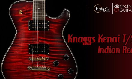 Knaggs Kenai T/S Eric Steckel Signature Guitar | Indian Red Finish