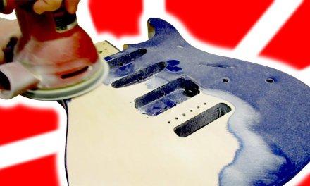 Repaint and Rebuild a Guitar