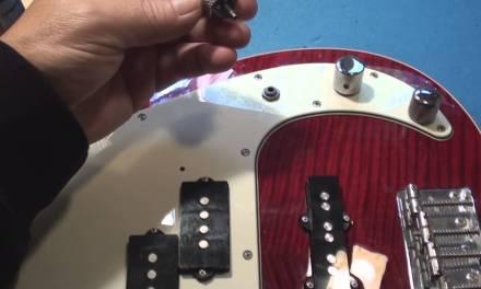 Broken P Bass Electronic Repair
