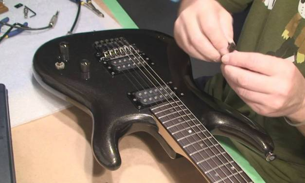 Ibanez JS Series Guitar Setup