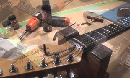 Stratocaster Stripped Truss Rod Nut