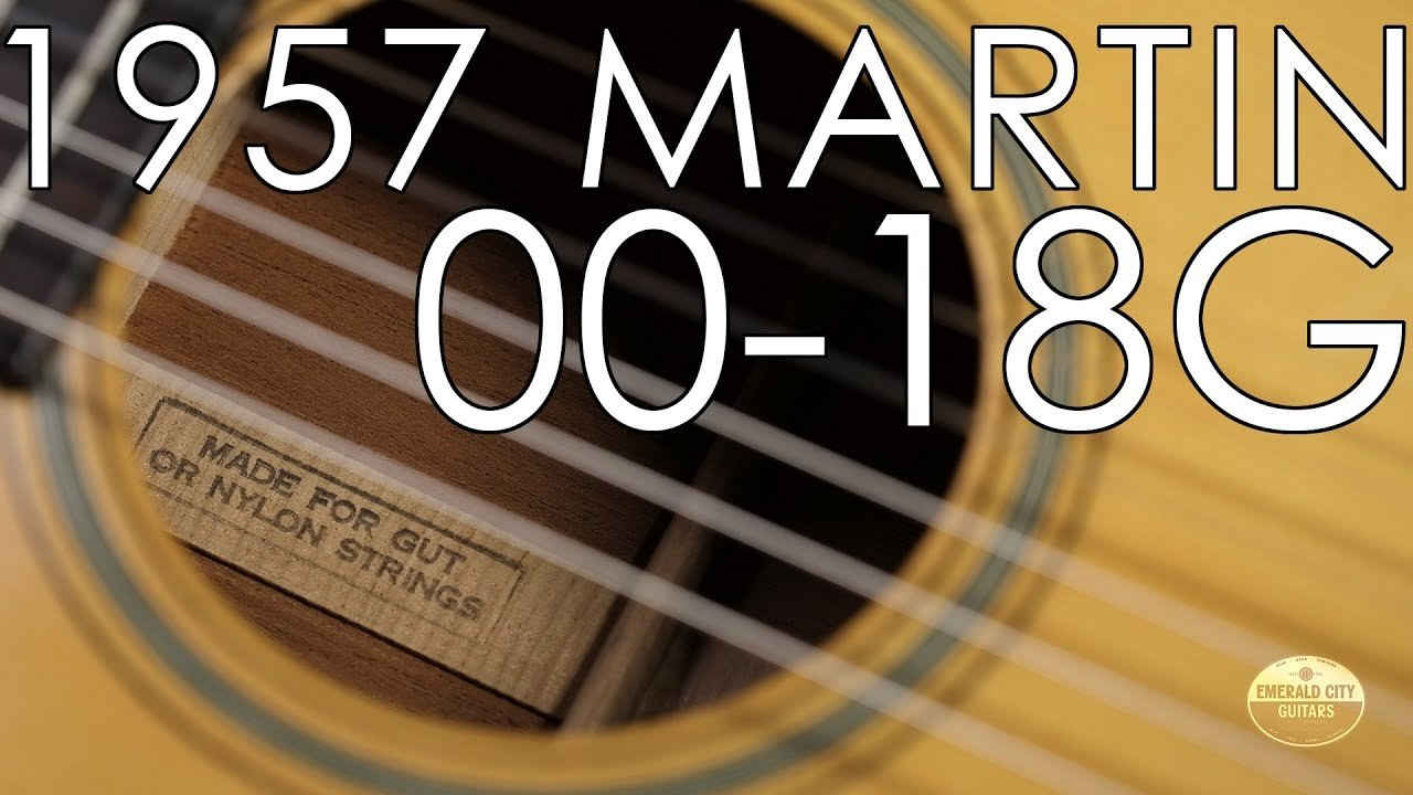 """""""Pick of the Day"""" – 1957 Martin 00-18G"""
