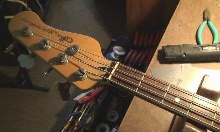 Vintage G&L Bass Guitars for Repair