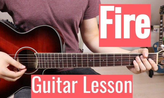 Barns Courtney – Fire | Guitar Lesson/Tutorial | Easy How To Play (Chords)