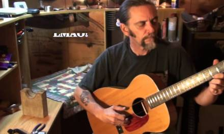 Harmony H162 guitar repair part 8 of 8 and DEMO!