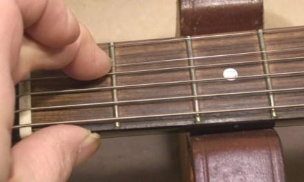 Yamaha AES-920 Guitar Repair and Setup