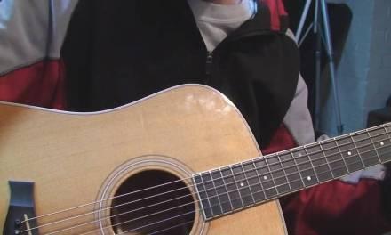 Taylor Acoustic Guitar Repair Part 2