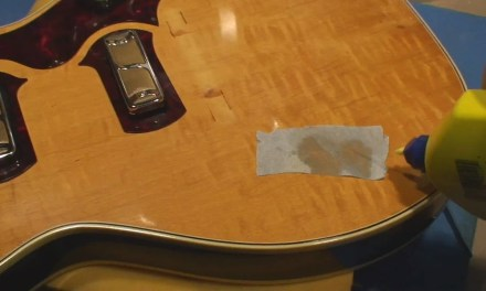 Harmony Stratotone Jupiter Guitar Restore and Repair Part 2