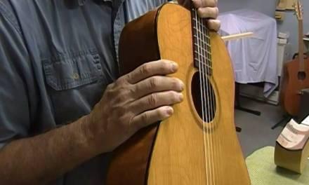 1957 GOYA Classical Guitar Repair by Jonah Custom Guitars, FINAL