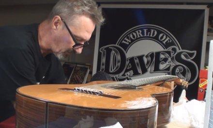 Classical Guitar gets Crack Repair