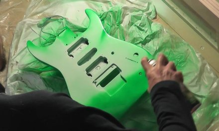 ⓞ Old Jackson face lift – part 2 | Guitar repair | guitar face lift