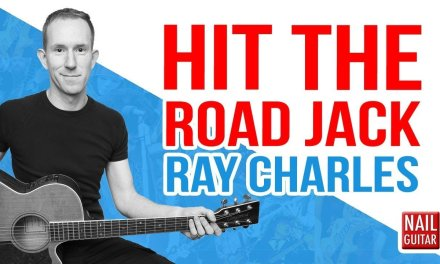 Hit The Road Jack ★ Ray Charles ★ Guitar Lesson – Easy How To Play Acoustic Songs – Chords Tutorial