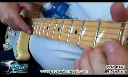 Yngwie Malmsteen Strat complete setup at Pace Guitar Repair | Amazing Quality 2018!