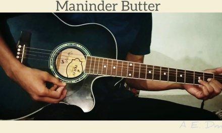 Sakhiyaan | Maninder Butter | Guitar Cover | Satyam Gupta | Easy Guitar Lesson | Guitar Chords