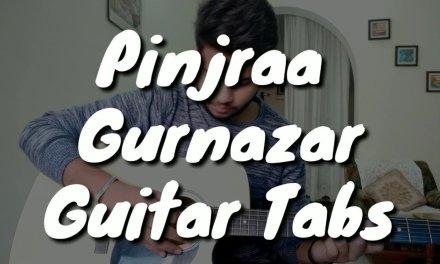 Pinjraa – Gurnazar || B Praak || Jaani || Guitar Tabs  || Guitar Cover || Punjabi Song
