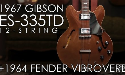 """Pick of the Day"" – 1967 Gibson ES-335TD 12-string and 1964 Fender Vibroverb"