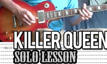 Queen – 'Killer Queen' Solo Guitar Lesson (With Tabs)