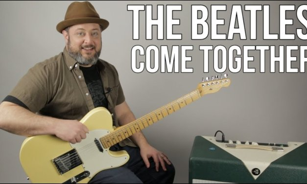 The Beatles – Come Together – Guitar Lesson, How to Play
