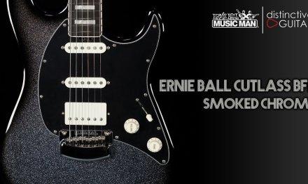 Ernie Ball Music Man Cutlass BFR   Smoked Chrome Limited Edition